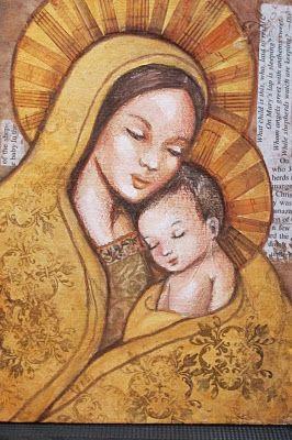 peggy aplSEEDS: Golden Madonna and Child