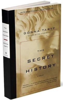 On the reading list: The Secret History, Donna Tartt's much bruited first novel