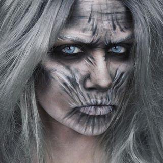 White Walker makeup