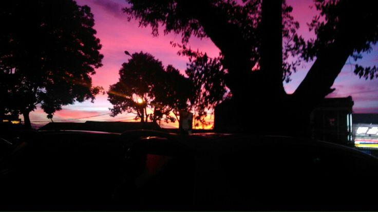 Sunset in my place #nature #siluet #sunset #sun #photograph #photography #sky #amazing #beautiful #view #eveningview #evening #nice #niceshoot