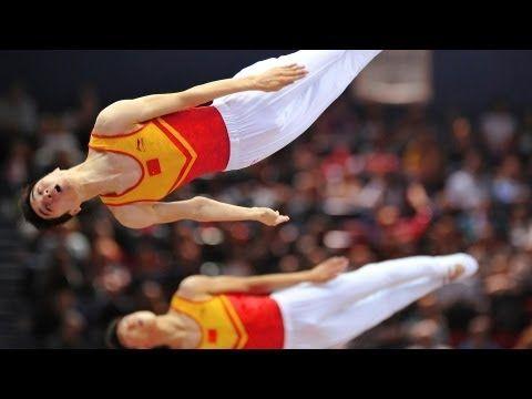 Trampoline Worlds 2011 Birmingham - Men Synchro and Women Individuals - We are Gymnastics!