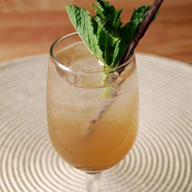 Homemade Ginger Ale, a recipe from ATCO Blue Flame Kitchen's Everyday Delicious 2013 cookbook.