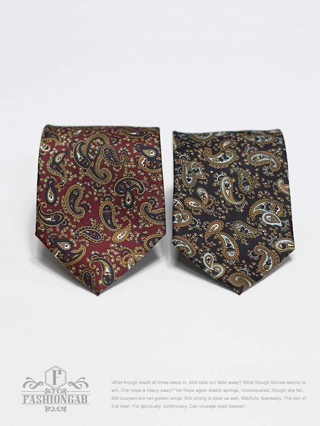고급스러운 < 페이즐리 넥타이 > 마이크로피버소재로 튀지않는 은은한 광택감이 일품이구요. 단색 셔츠와 댄디한 스타일에 매치하시면 더욱 멋스러운 제품입니다.  바로가기 : http://bit.ly/MSM0009