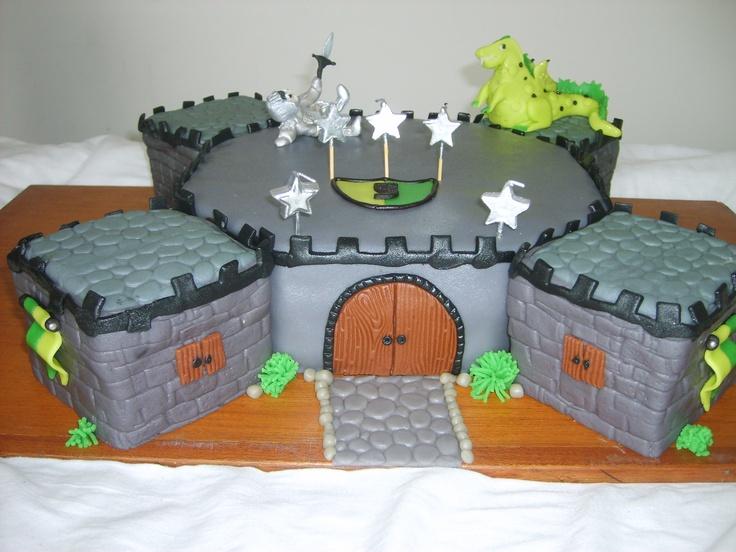 kasteel (graag met groene draak mama)