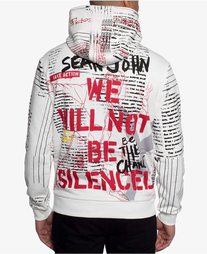 Sean John Men Rise Up Graphic Hoodie | Graphic hoodies