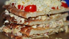 Varm smörgåstårta på Hönökaka