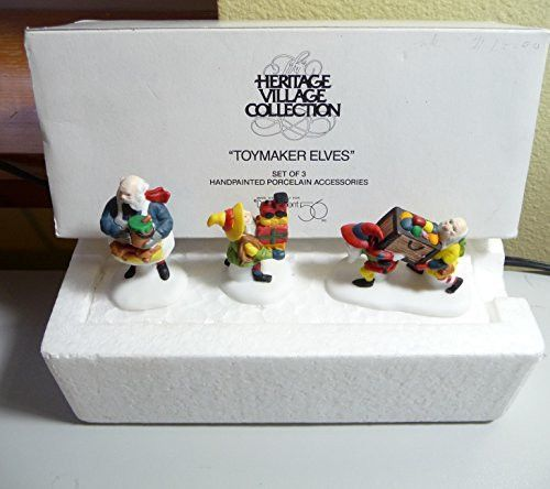 """North Pole Series: """"Toymaker Elves"""" #5602-2 by Department 56"""