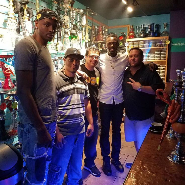 Hanging out with Jerian Grant of the Bulls and Jeremi Grant of OKC at House of Hookah #hookah #chicago #shisha #hookahbar #hookahlounge
