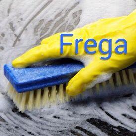 Scrub | Frega e suela bon - Scrub the floor good! Visit: henkyspapiamento.com #papiamentu #papiamento #papiaments #aruba #bonaire #curacao #scrub #schrobben #fregar #esfregar