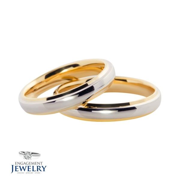 Set verighete cu Diamant UNR-VEG-022