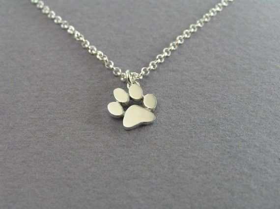 Jisensp Chokers Necklace Tassut Cat and Dog Paw Print Animal Jewelry Women Pet M #jisensp #Trendy