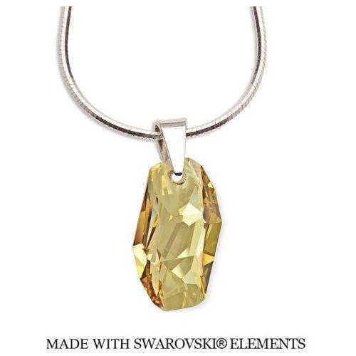 Náhrdelník Swarovski Meteor zlatistý Divine Jewellery eshop