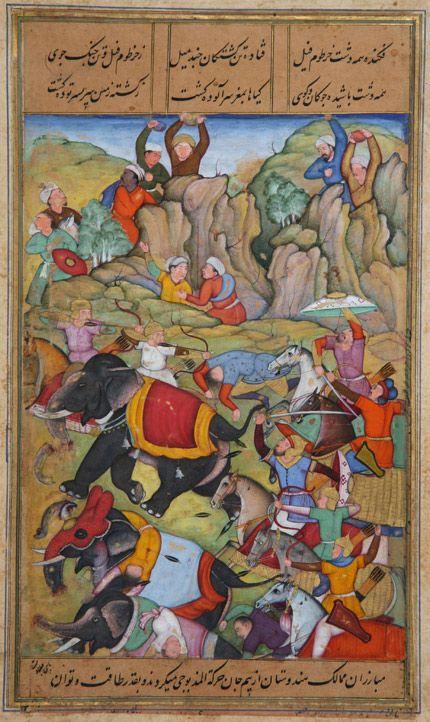 Timur defeats the sultan of Delhi - Timur - Wikipedia, the free encyclopedia