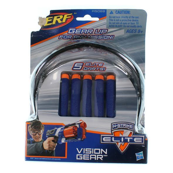 Hasbro Hasbro Nerf N-Strike Elite Vision Gear at up to 95% Off - Swap.com #swap #hasbronerfgear #forkids #toys #shopping