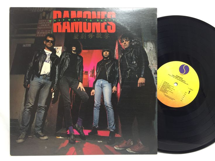 The Ramones Halfway To Sanity Lp Oop Original Us Release