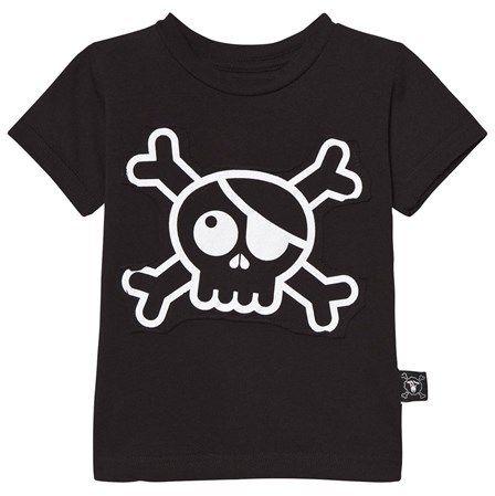 Nununu Black Skull Patch T-shirt