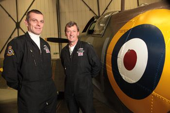 Squadron Leader Ian Smith and Squadron Leader Al Pinner ( My ex brother in law ).