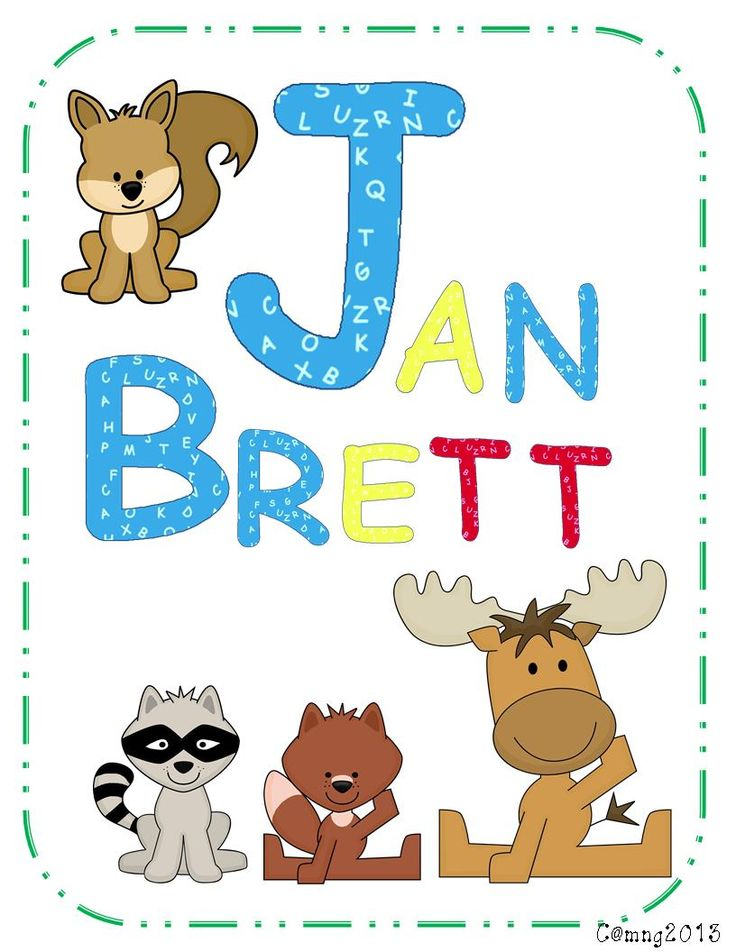 Sarah's First Grade Snippets: Jan Brett Author Study