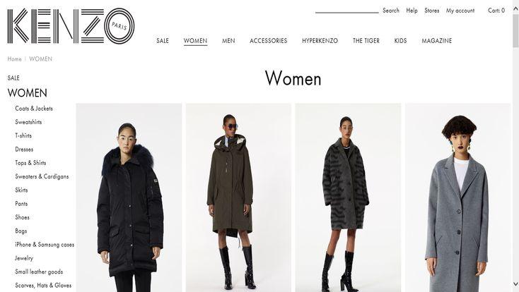 Kenzo Online Shopping