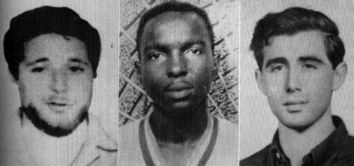 On June 21, 1964, three young civil rights workers—a 21-year-old black Mississippian, James Chaney, and two white New Yorkers, Andrew Goodman, 20, and Michael Schwerner, 24—were murdered near Philadelphia, in Nashoba County, Mississippi.  Read more: The Murders of James Chaney, Andrew Goodman & Michael Schwerner - Civil Rights Case | Infoplease.com http://www.infoplease.com/spot/bhmjustice4.html#ixzz2paIVGEHz