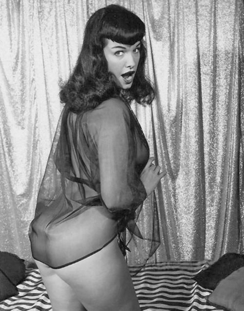 The undisputed Queen of pin ups Ms. Betty Page