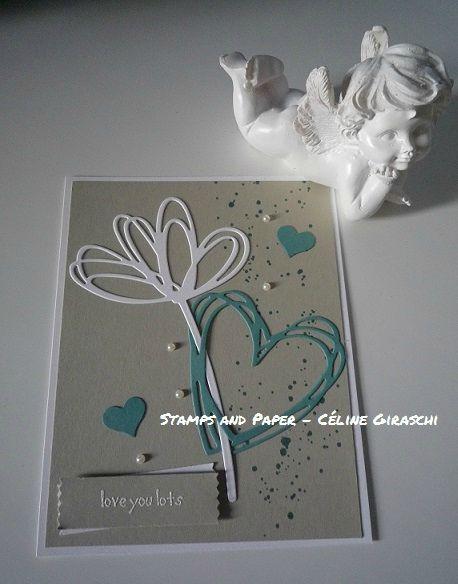 #StampsandPaperCelineGiraschi #StampinUp #LoveYouLotsCard