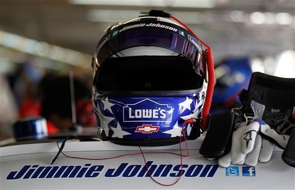 NASCAR Helmets Photos 2012 | 2012 Memorial Day Jimmie Johnson helmet | The Final Lap - NASCAR Radio ...