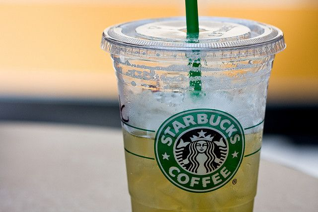 Starbucks peach green tea lemonade recipe  1peach green tea bag 1/4 cup lemonade powder shake it up add a little sugar