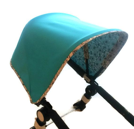 Unique canopy for Bugaboo Cameleon stroller. Done with loving care from materials of the superior quality. The top fabric - 100% the waterproof