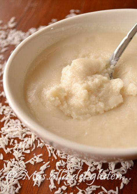 Más allá del gluten...: Mantequilla de Coco (Receta SCD, GFCFSF, Vegana, RAW) // Coconut Butter