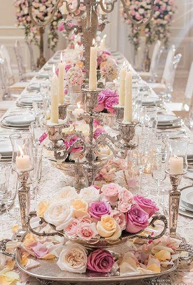 Victorian Wedding Tablescape                                                                                                                                                                                 More