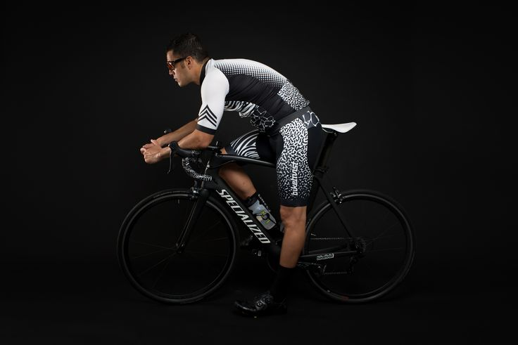 The Penumbra Limited Edition Kit features top end Italian fabrics, longer sleeves, rear zip pocket and a rad design that will set you apart from the 'uniformed-looking' crowds. The Penumbra Kit has been crafted in Italy using high-tech Bio-ceramic, a fabric technology proven to improve the elimination of toxins, blood circulation and oxygenation of tissues, and reduce effort fatigue.  #LookRadNotPretty #BornToRide #Biketivist #Cycling #Apparel #Jersey #Bib #Bike