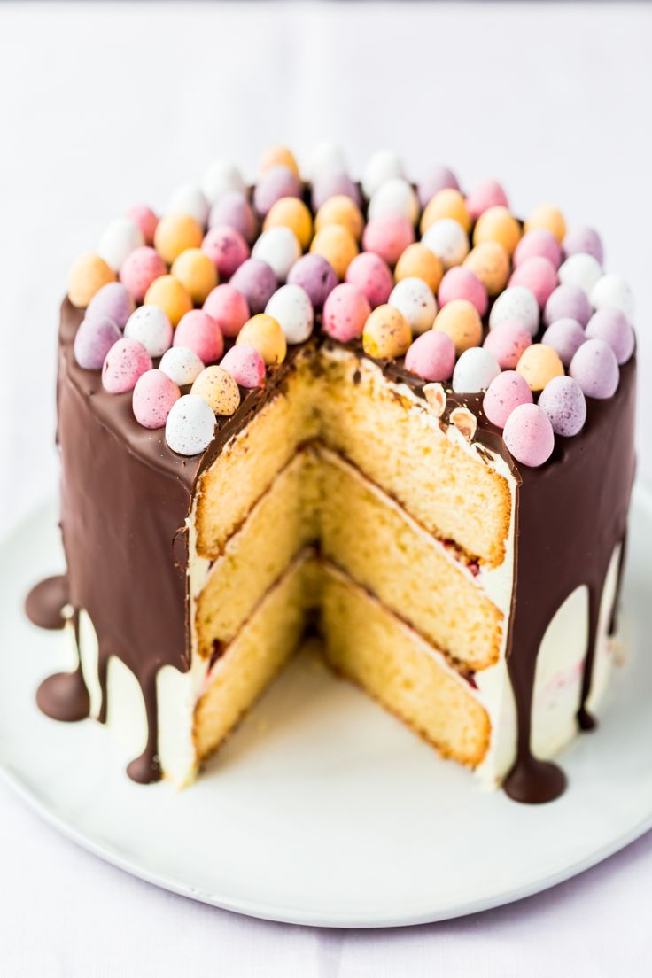 This gorgeous Thermomix Easter cake is a beautiful recipe to make this Easter. With little Cadburys mini eggs.