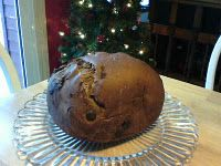 """Chocolate Bread (1.5lb loaf)    (This is a bread machine recipe, but I'm sure it could be modified)      1-1/4 c milk  1-1/2 t vanilla  1 egg  3 T brown sugar  6 T cocoa powder  3/4 t salt  1 T butter  3 c bread flour  1 t active dry yeast    1 c chocolate chips *    Add ingredients in order, reserving the chocolate chips for the add in """"beep"""". If your machine doesn't have an """"add in"""" beep, it's the 3rd kneeding session (about 1/2 an hour in).Set for sweet bread, 1.5 lb loaf.    I love…"""