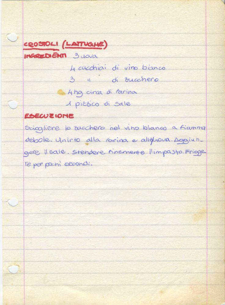 Crostoli (lattughe)