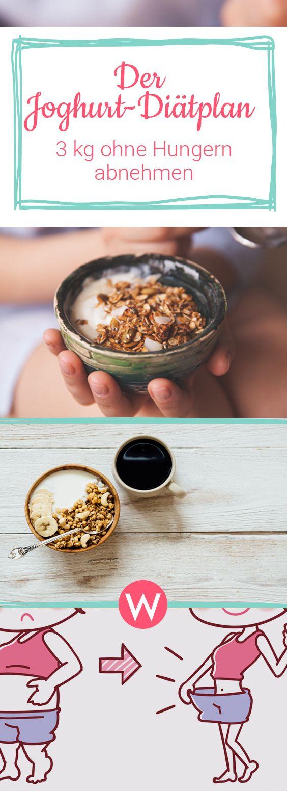 Hungern um abzunehmen? Das musst du bei der Joghurt-Diät nicht.  #diät #abnehmen #rezepte