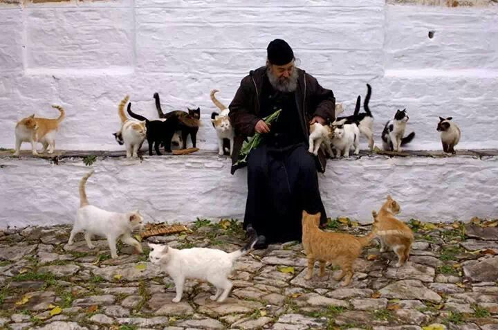 In Mount Athos,Macedonia-Greece