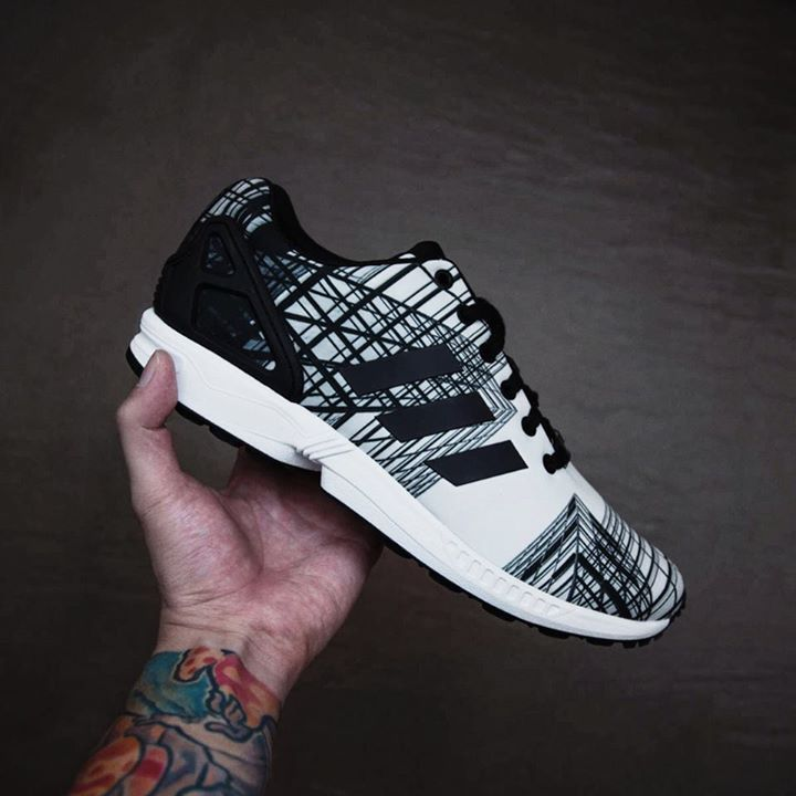 Unisex Adidas Zx Flux Running Shoes Black Casual Green Outlet On Sale