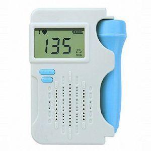 Best Baby Dopplers: NHNCIO Pocket Unborn Baby Heartbeat Monitor -Reviews by OhanaMom.com