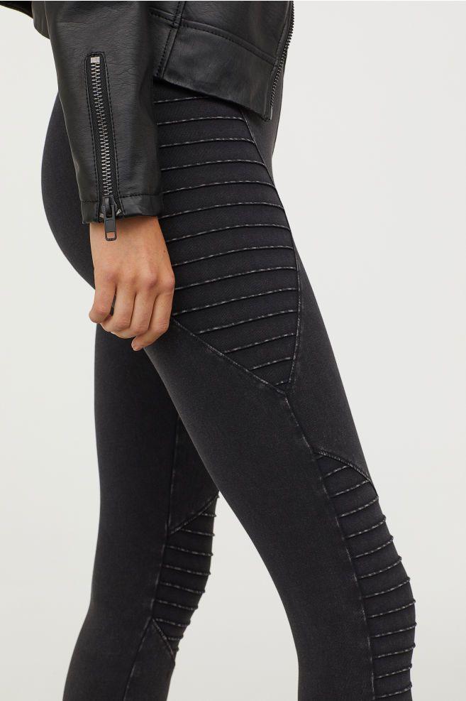 latex leggins h&m
