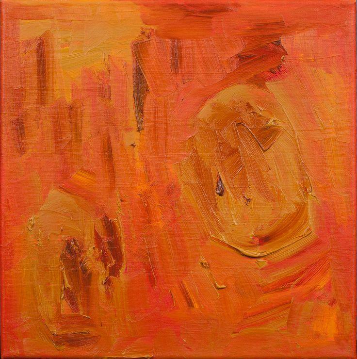Positive Abstract Fine Art 'SUNSET'