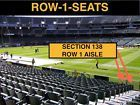 #Ticket  2 Front row San Diego Chargers at Oakland Raiders tickets section 138 row 1 #deals_us