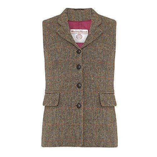 Lend a refined edge to your everyday tailoring with this sophisticated Harris Tweed waistcoat in beige. The style has been borrowed from-the-boys-feel, encapsulating tradition. It's delicately crafted with a herringbone stitch, showcasing an impeccable finish. Layer yours with tailored...  More details at https://jackets-lovers.bestselleroutlets.com/ladies-coats-jackets-vests/wool-pea-coats/product-review-for-ladies-harris-tweed-waistcoat/