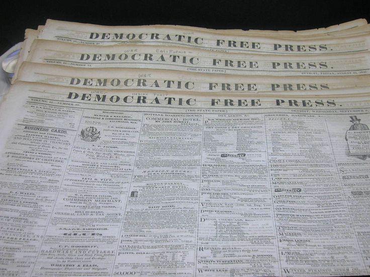 The  Best Detroit Newspaper Ideas On   Detroit Press