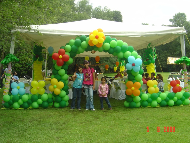 25 best images about party selva on pinterest jungle - Globos para fiesta ...