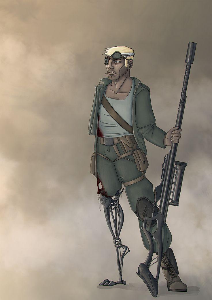 Postapocalyptic survivor by Odrobinka.deviantart.com on @DeviantArt