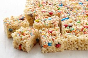 Rainbow lunchbox bars