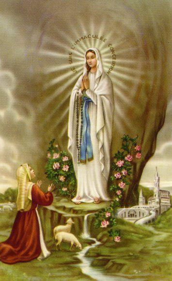 Las apariciones de la Santísima Virgen María en Lourdes y la historia de Bernardette Soubirous