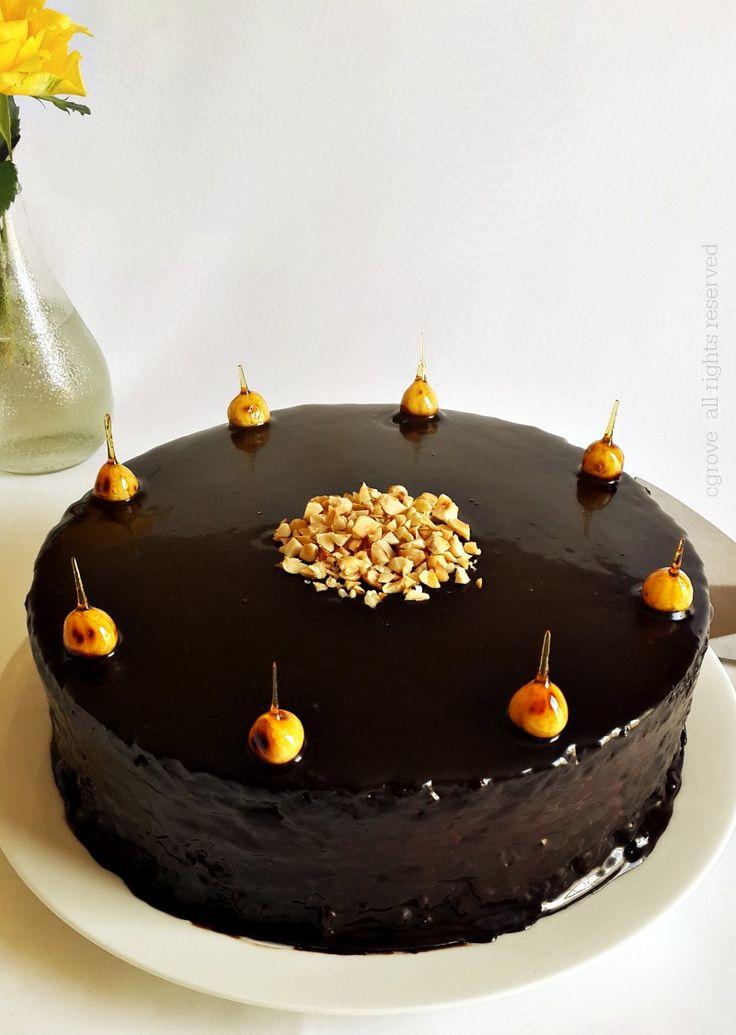 CHOCOLATE HAZELNUT MOUSSE CAKE GLUTEN FREE
