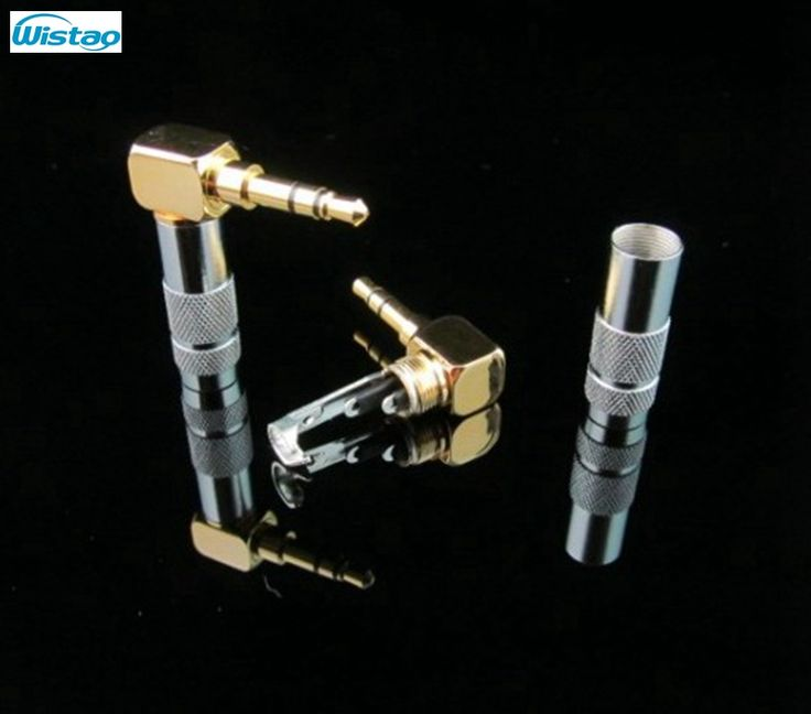 3.5mm Right-angle Headphone Plug Pure Copper Oyaide Taiwan original For you DIY HIFI Top-Headphone Recording Cable (Model No: WHFC-OR35(A))